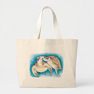 Meeresschildkröten Jumbo Stoffbeutel