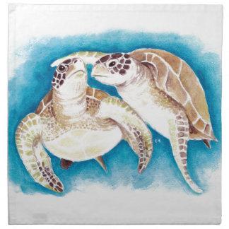 Meeresschildkröten Serviette