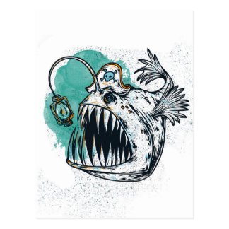 Meereswelt Postkarte