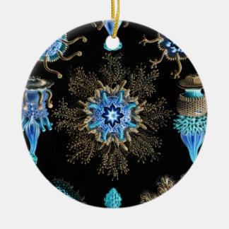 Meergrün Siphonophorae Keramik Ornament
