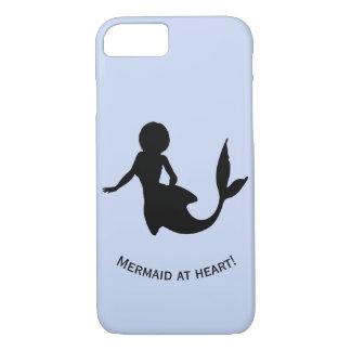 """Meerjungfrau am Herzen"" einzigartiger Entwurf, iPhone 8/7 Hülle"