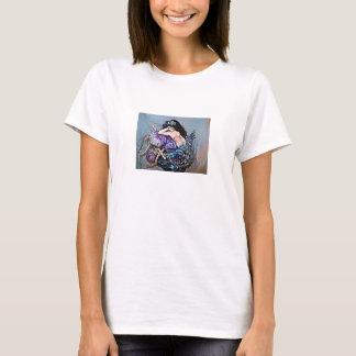 Meerjungfrau auf jellyfisch T-Shirt