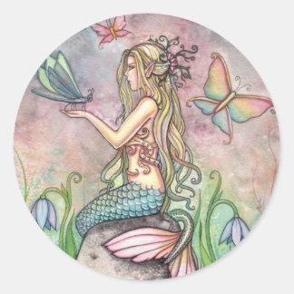 Meerjungfrau-Aufkleber durch Molly Harrison