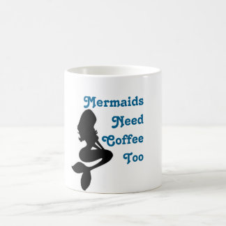 """""""Meerjungfrau-Bedarfs-Kaffee-auch"""" Kaffee-Tasse Kaffeetasse"""