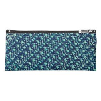Meerjungfrau-blaues Grün-Kettenhemd-metallisches Stiftetasche