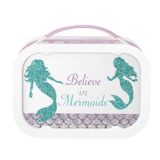 Meerjungfrau-Brotdose, Mädchen-SchulBrotdose Brotdose