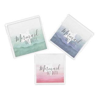 Meerjungfrau-dienstfreies Behälter-Set Acryl Tablett