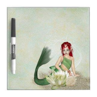 Meerjungfrau-Fantasie Memoboard