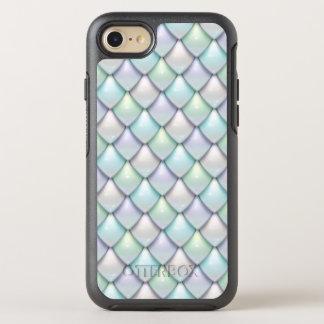 Meerjungfrau-Fantasie-Skala-Muster OtterBox Symmetry iPhone 8/7 Hülle