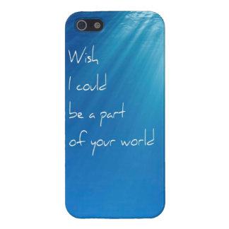 Meerjungfrau-Fantasie-Wunsch Iphone 5 Fall iPhone 5 Hüllen