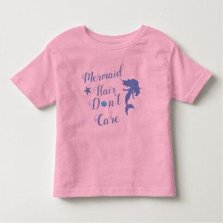 Meerjungfrau-Haar interessieren sich nicht Kleinkind T-shirt