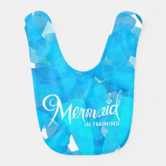Meerjungfrau im Trainings-Schellfisch Babylätzchen