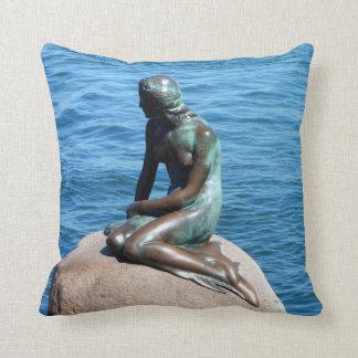 Meerjungfrau in Dänemark Kissen