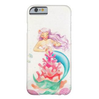 Meerjungfrau iPhone 6/6s, kaum dort Telefon-Kasten Barely There iPhone 6 Hülle