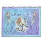 Meerjungfrau-Kalender 2011 durch Molly Harrison Kalender