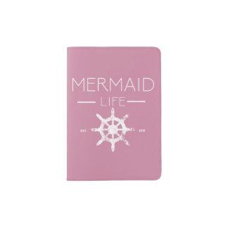 Meerjungfrau-Leben-Pass-Abdeckung Passhülle
