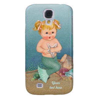 Meerjungfrau-Mädchen Galaxy S4 Hülle