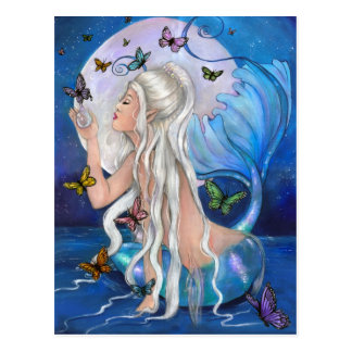 """Meerjungfrau-Magie"" Postkarte"