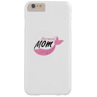 Meerjungfrau-Mamma-Geburtstags-Party lustig Barely There iPhone 6 Plus Hülle