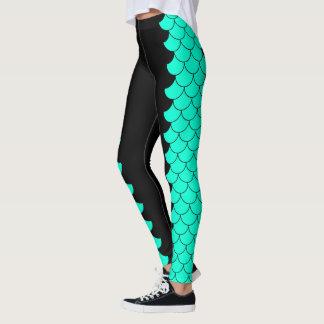 Meerjungfrau-Metamorphose Leggings