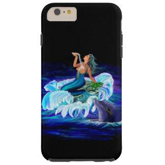 Meerjungfrau mit Delphin Tough iPhone 6 Plus Hülle