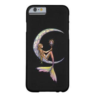 Meerjungfrau-Mond-Fantasie-Kunst Barely There iPhone 6 Hülle