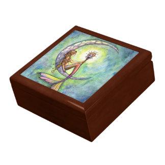 Meerjungfrau-Mondtrinket-Kasten-Geschenkboxen Schmuckschachtel