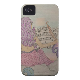 Meerjungfrau-Musik iPhone 4 Case-Mate Hülle