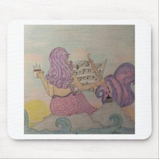 Meerjungfrau-Musik Mousepads