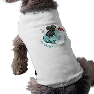 Meerjungfrau-Pitbull Shirt