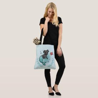 Meerjungfrau-Pitbull Tasche