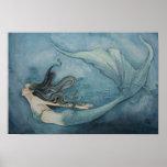 Meerjungfrau-Plakat