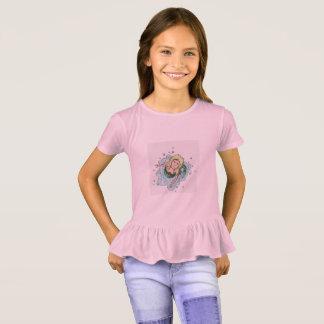 Meerjungfrau-Prisma-Wanderer-Shirt T-Shirt