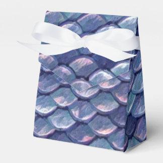 Meerjungfrau-Seeblau-Skalen Geschenkschachtel