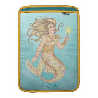 Meerjungfrau-Seekönigin-FIA-Fantasie MacBook Sleeve