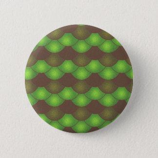 Meerjungfrau-Skalen - giftiger Schmutz Runder Button 5,1 Cm