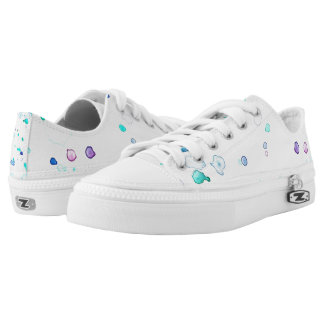 Meerjungfrau-Spritzen-lila und aquamarine Schuhe