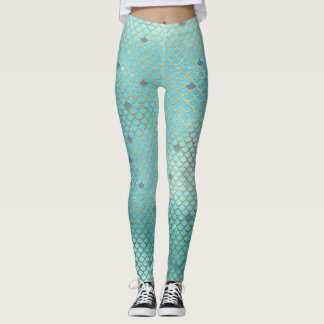 Meerjungfrau stuft leggings