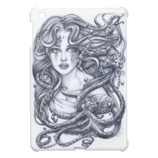 Meerjungfrau u. ihre Krake Hülle Für iPad Mini