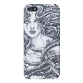 Meerjungfrau u ihre Krake iPhone 5 Cover