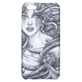 Meerjungfrau u. ihre Krake iPhone 5C Hüllen