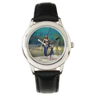 Meerjungfrau Uhr