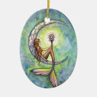 Meerjungfrau und die keramik ornament