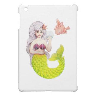 Meerjungfrau und Freund iPad Mini Hülle