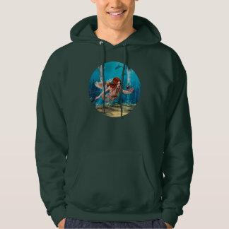 Meerjungfrau und Seelilie Hoodie
