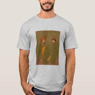 Meerjungfrau und Seepferd T-Shirt