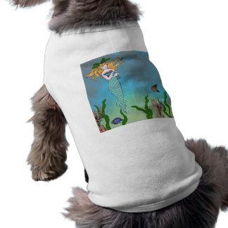 Meerjungfrau und Siegel T-Shirt