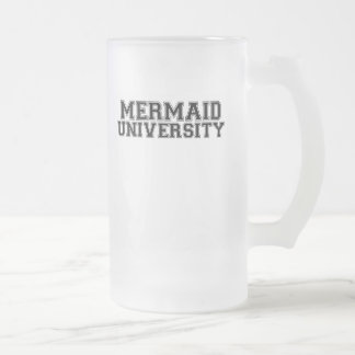 Meerjungfrau-Universität Mattglas Bierglas