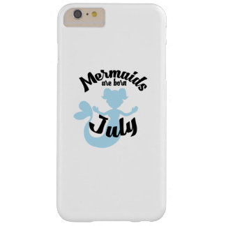 Meerjungfrauen sind geborene im Juli Barely There iPhone 6 Plus Hülle