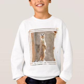 Meerkat am Aufmerksamkeits-Jugend-Sweatshirt Sweatshirt